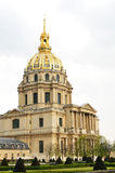 Les Invalides Dome Royalty Free Stock Photography