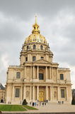 Les Invalides Dome Stock Image