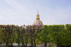 Les Invalides Dome Royalty Free Stock Photos