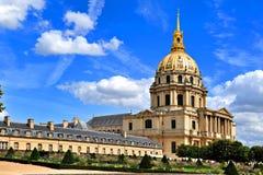 Les Invalides en París, Francia fotos de archivo