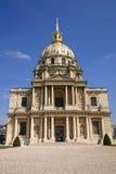 Les Invalides en París Francia Fotografía de archivo