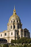 Les Invalides en París. Francia Foto de archivo libre de regalías