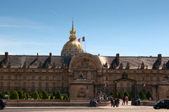 Les Invalides hospital in Paris Royalty Free Stock Image