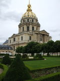 Les Invalides. Http://www.musee-armee.fr/en/english-version.html Royalty Free Stock Photos
