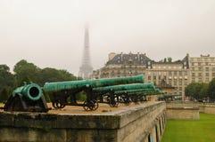 Les-invalides Kanone Stockfoto