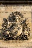 Les Invalides Krajowa siedziba Invalids Paryż, F obrazy stock