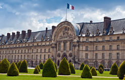 Les Invalides Museum paris Royalty Free Stock Photography