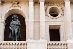 Les Invalides Napoleon Bonaparte 1st statua zdjęcie royalty free