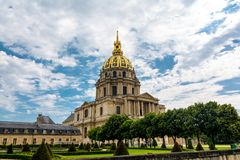Les Invalides - Napoleon's Tomb Royalty Free Stock Photo