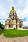Les Invalides - Napoleon's Tomb Stock Photo