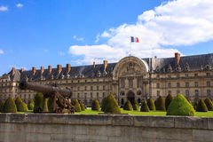 Les Invalides (The National Residence of the Invalids) in Paris, Stock Image