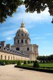 Les Invalides, Parigi fotografie stock libere da diritti