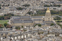 Les Invalides, Parijs Stock Afbeeldingen