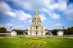 Les Invalides, Parijs, Frankrijk Stock Foto's