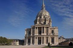 Les Invalides, Parijs, Frankrijk Stock Fotografie