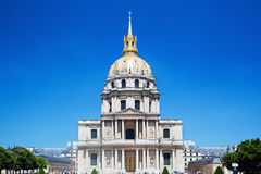 Les Invalides, Parijs, Frankrijk Royalty-vrije Stock Fotografie