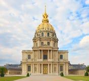 Les Invalides, Parijs, Frankrijk. Het graf van Napoleon. Stock Afbeelding