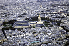 Les Invalides of Paris Stock Photos