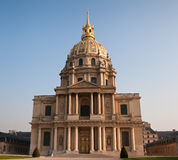 Les Invalides, Paris Royalty Free Stock Image