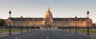 Les Invalides, Paris Stockfotos