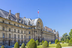 Les Invalides in Paris. Stock Photography