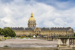 Les Invalides in Paris. Royalty Free Stock Photos
