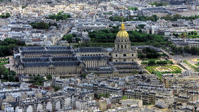 Les Invalides in Paris Lizenzfreies Stockfoto