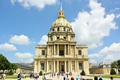 Les Invalides, Paris Stock Photography