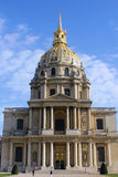 Les Invalides in Paris, chapel Saint Louis des Invalides Royalty Free Stock Image