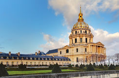 Les Invalides - Paris Stock Image