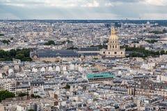 Les Invalides Paris França Fotografia de Stock