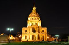 Les Invalides in Paris, France Stock Photos