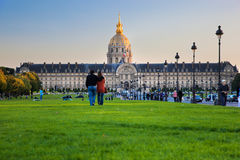 Les Invalides, Paris, France. Foto de Stock Royalty Free