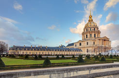 Les Invalides - Paris, France Stock Image