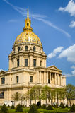Les Invalides - Paris, France Royalty Free Stock Photography