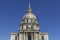 Les Invalides, Paris, France. Building Les Invalides in Paris, France Royalty Free Stock Photography