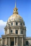 Les Invalides, Paris, France. On clear sky Stock Photos