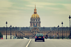 Les Invalides. Paris, France. Stock Photography