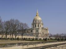 Les Invalides in Paris, France Stock Photos