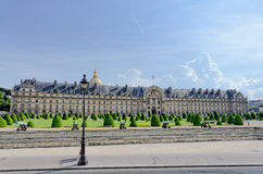 Les Invalides in Paris, France Royalty Free Stock Photos