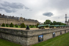 Les Invalides in Paris, France Royalty Free Stock Photo