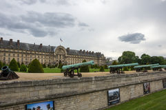 Les Invalides in Paris, France Stock Images