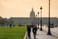 Les Invalides in Paris, France Royalty Free Stock Image