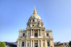 Les Invalides. Paris, France Royalty Free Stock Photos