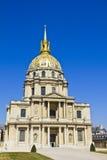 Les Invalides, Paris, Frankreich Lizenzfreies Stockbild
