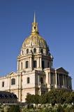 Les Invalides in Paris. Frankreich Lizenzfreies Stockfoto