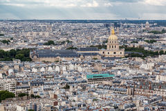 Les Invalides Paris Frankrike Arkivbild