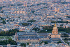 Les Invalides Paris Royalty Free Stock Photography