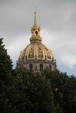Les Invalides, Paris - imagem conservada em estoque Fotos de Stock Royalty Free