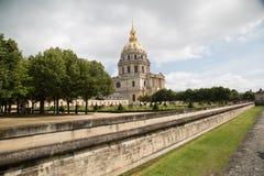 Les Invalides, Paris - imagem conservada em estoque Imagem de Stock